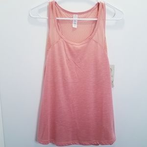 Balance Collection Athletic Tank Top Mesh Small